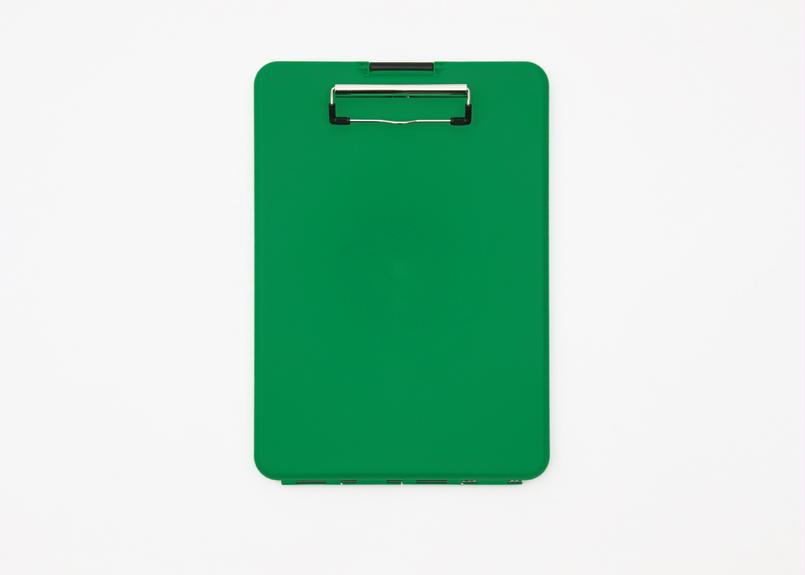 スリムメイト(A4サイズ クリップボード) -  グリーン