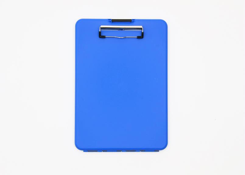 スリムメイト(A4サイズ クリップボード) -  ブルー
