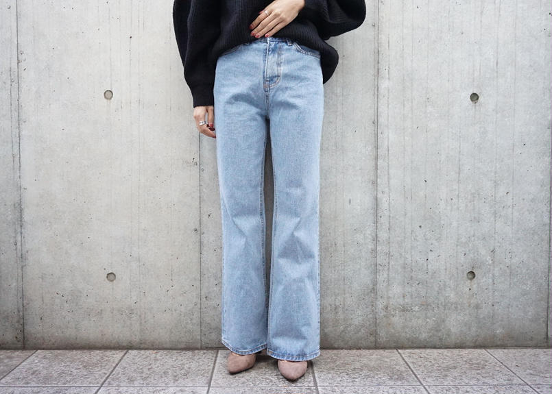 HIGHWAIST STRAIGHT FIT DENIM