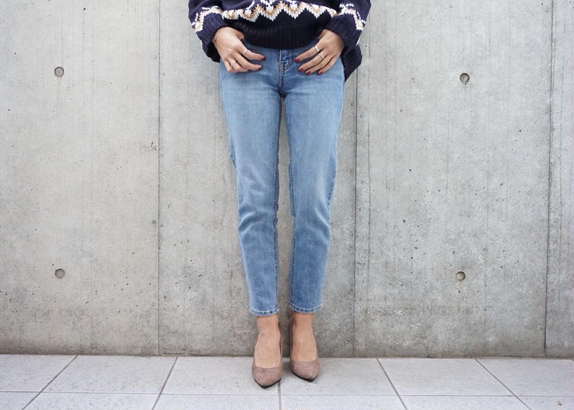 VINTAGE ANKLE DENIM