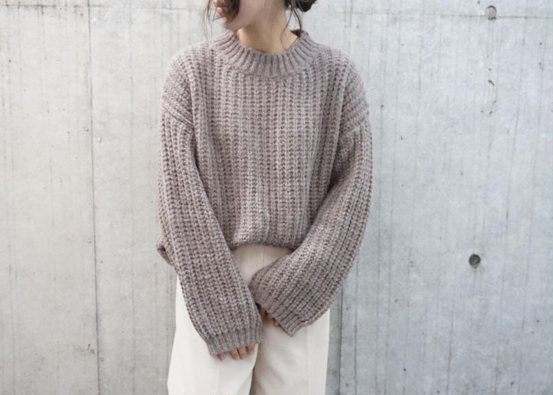 NUANCE COLOR KNIT