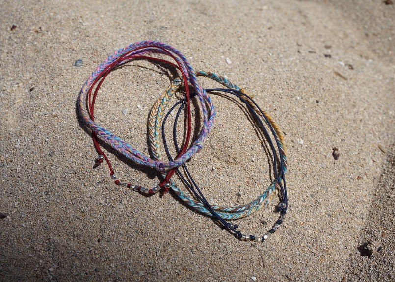 mix color anklet