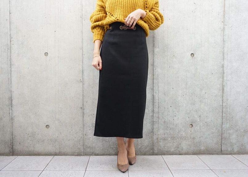 WAISTE BELT TIGHT SKIRT