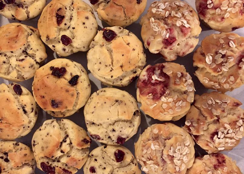6 muffins 【RANDOM】