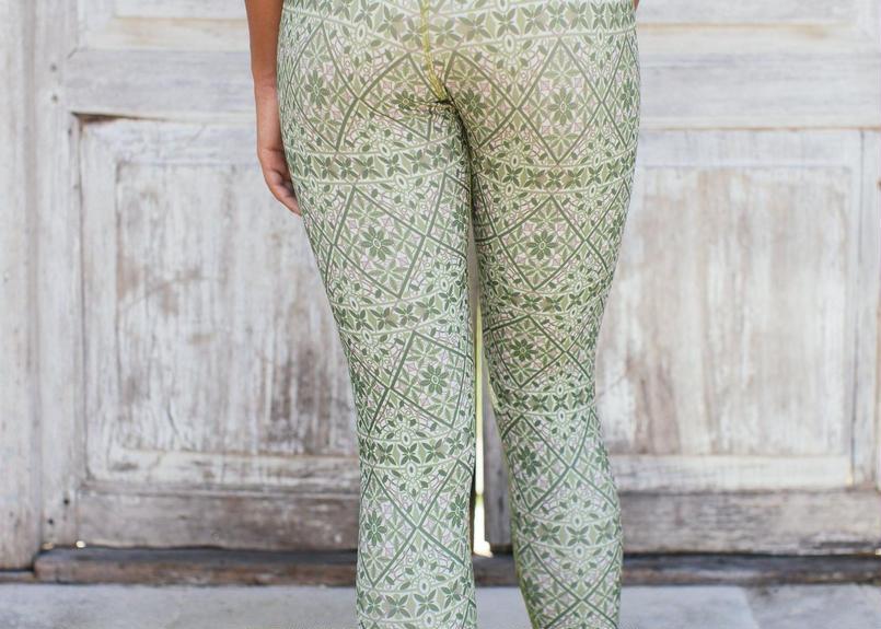 Samsara Legging Rani Green