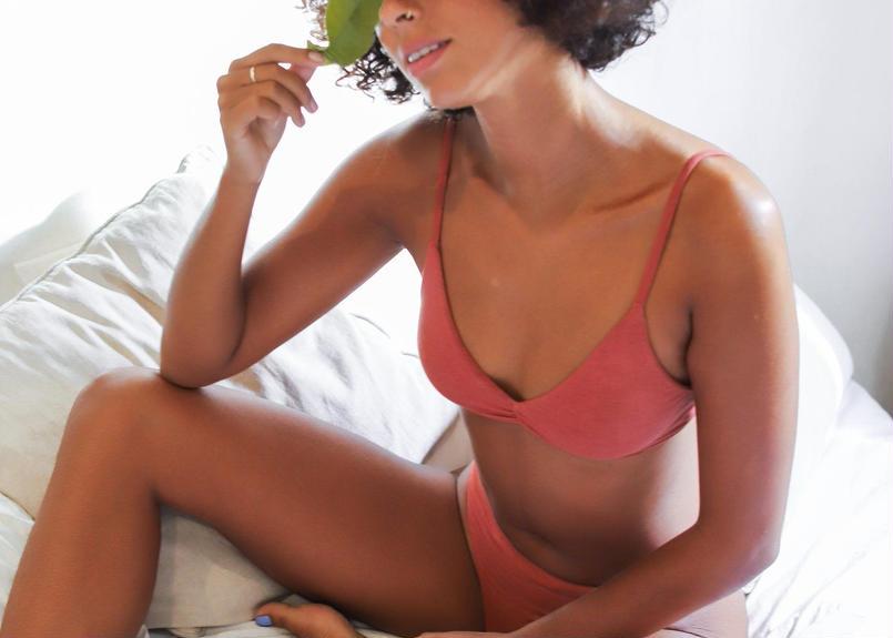 Lulu Bra Terracotta