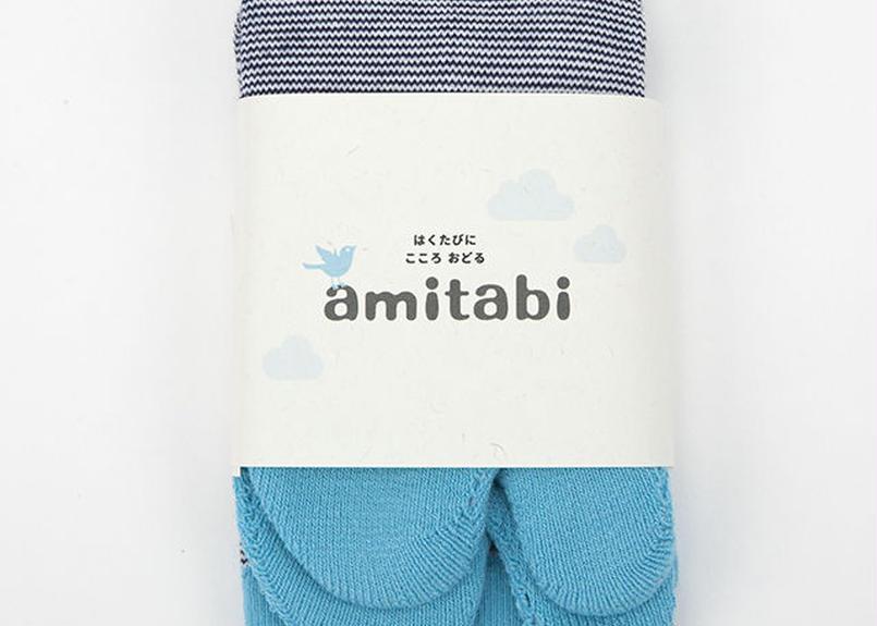 amitabi(アミタビ)ボーダー / スカイブルー