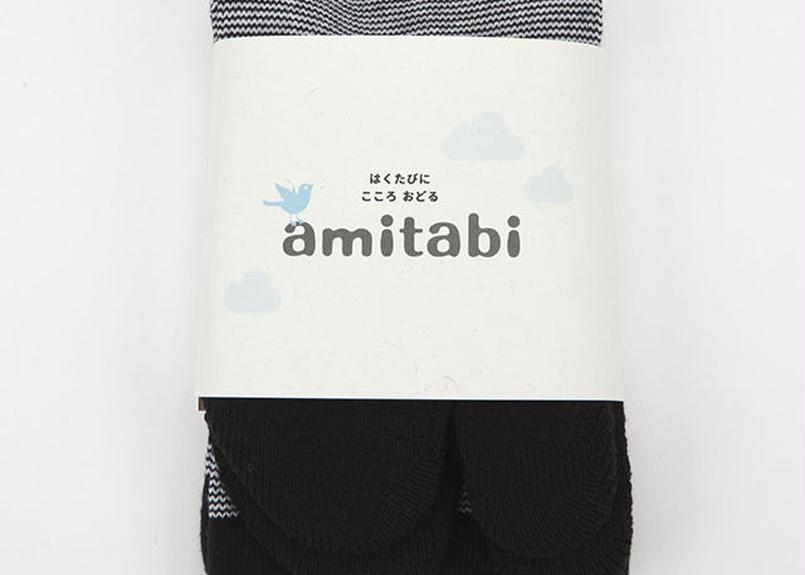 amitabi(アミタビ)ボーダー / ブラック