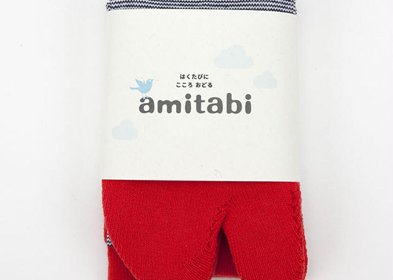 amitabi(アミタビ)ボーダー / レッド