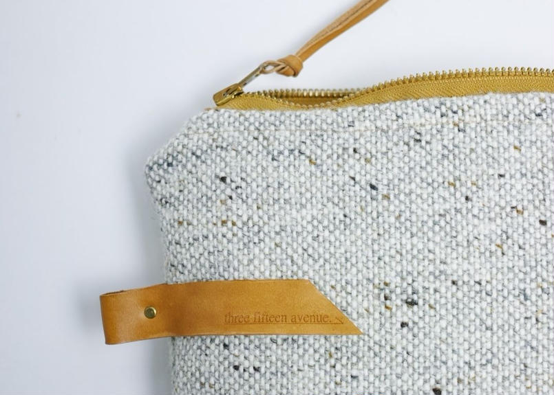 three fifteen pouch