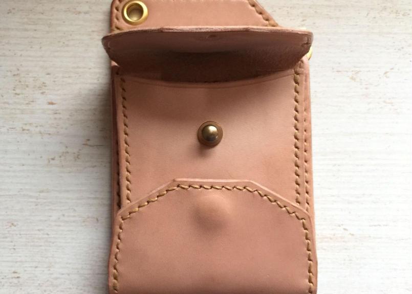 hourglass money clip wallet