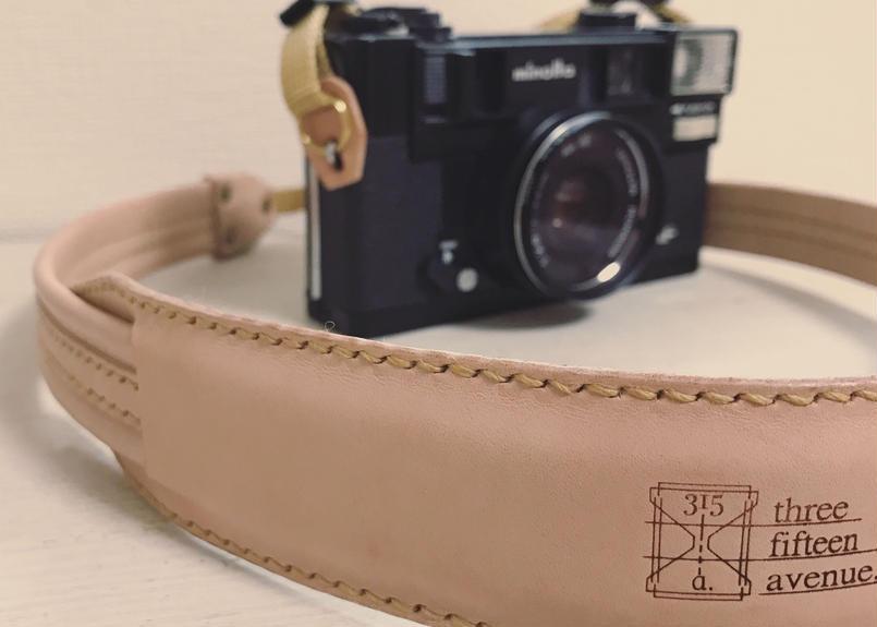 hourglass camera strap
