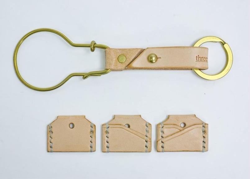 three fifteen key ring