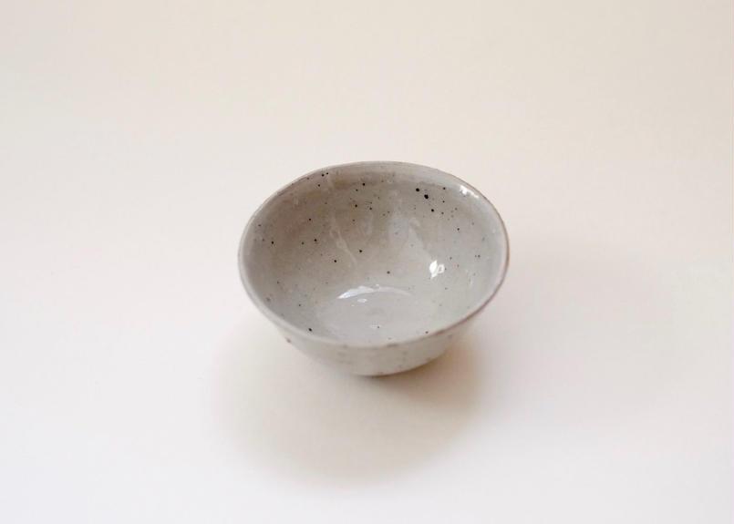 粉引 杯 灰色(光沢あり)