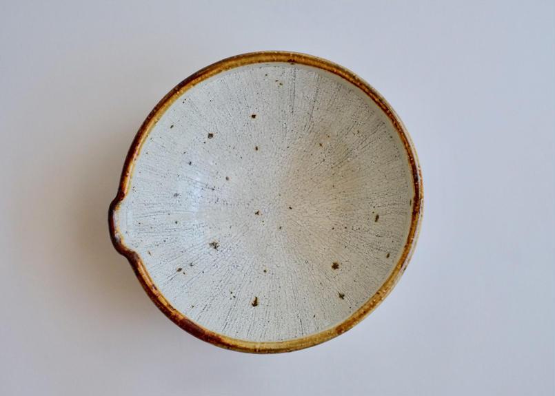 粉青釉七寸片口鉢