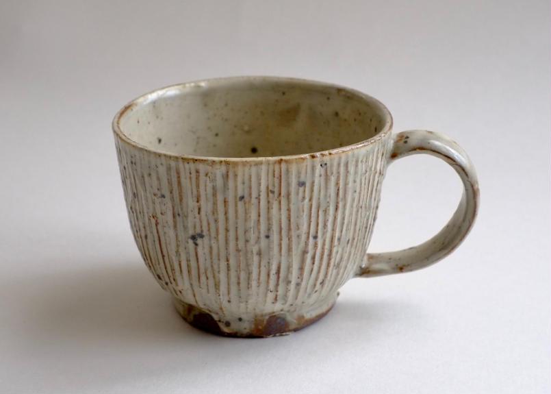 スープカップ 薪窯で焼成