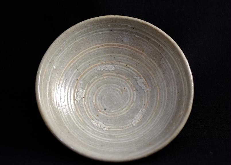 線三島小皿