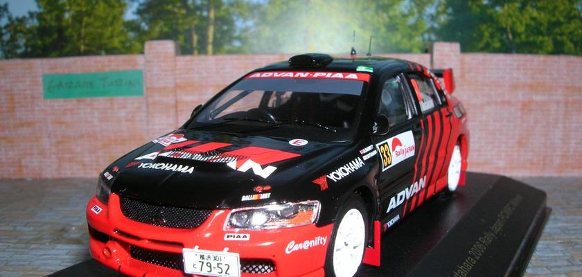 イクソ モデル 三菱 ランサーEVO Ⅸ (#33)ラリー ジャパン PCWRC 優勝 2006年