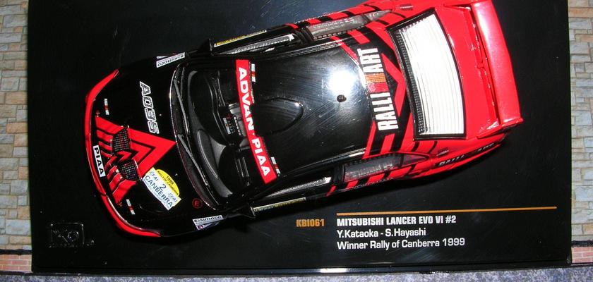 イクソ モデル 三菱 ランサーEVO Ⅵ(#2)ラリー オブ キャンベラ 1999年