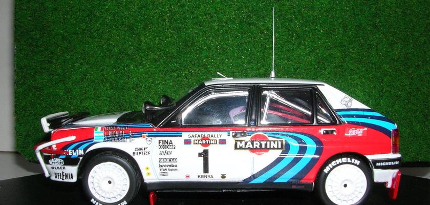 ビテス ランチア デルタ インテグラーレ 16V (#1)  サファリ ラリー  1991 3rd
