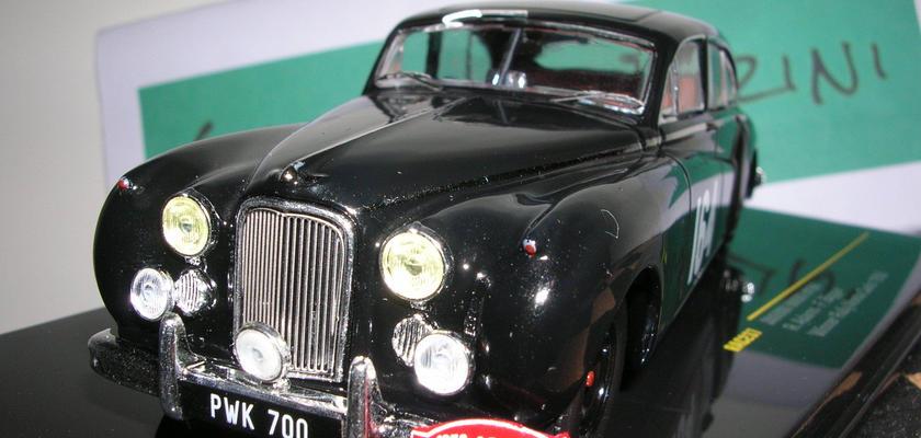イクソ モデル ジャガー MKⅦ (#164) モンテカルロ ラリー優勝 1956年