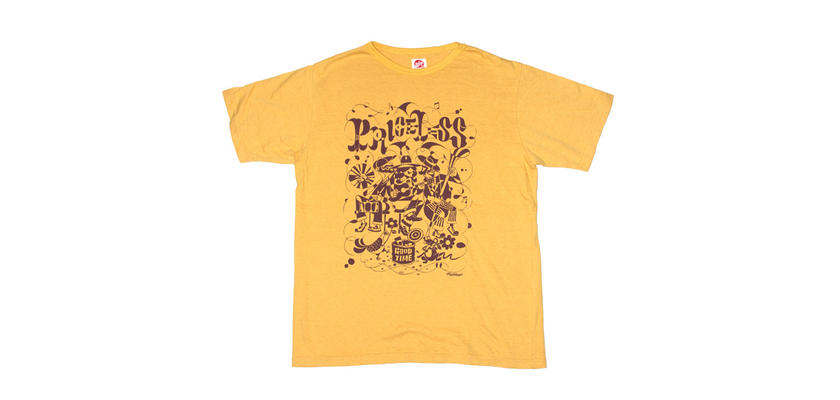 PRICELESS T-SHIRTS -Mustard yellow-