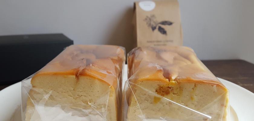 柑橘チーズケーキセット【7/27発送】 ※水出し珈琲