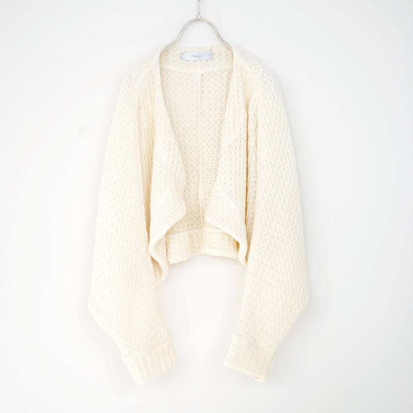 3tsui/ゆったりボレロ(off-white)