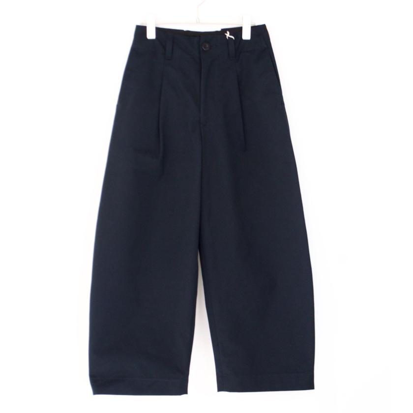 ASEEDONCLOUD/HW wide trousers (備前壱号・charcoal)