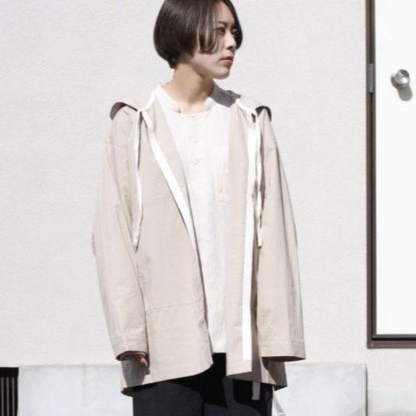 ANITYA/shirt gown(beige)