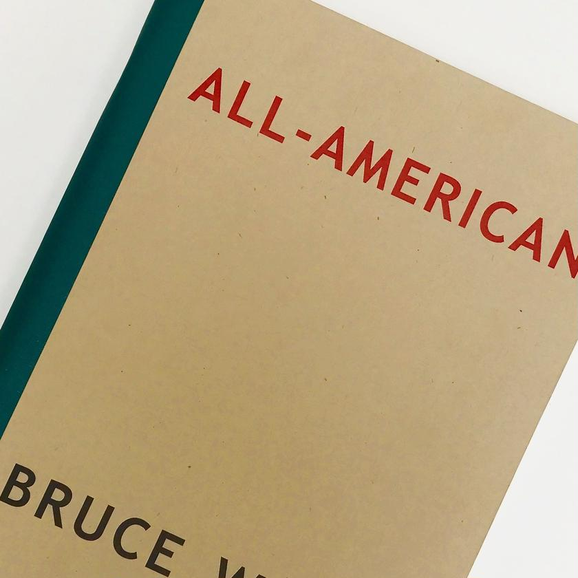 Title/ ALL-AMERICAN Author/ Bruce Weber