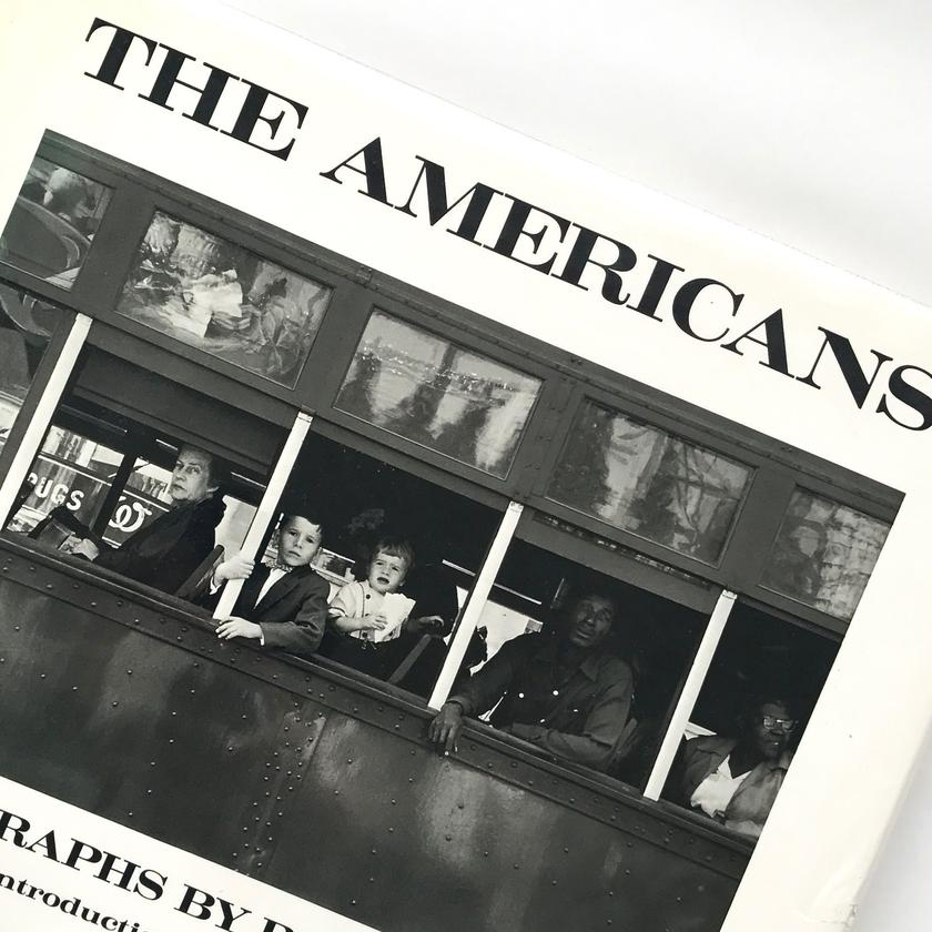 Title/ The Americans  Author/ Robert Frank