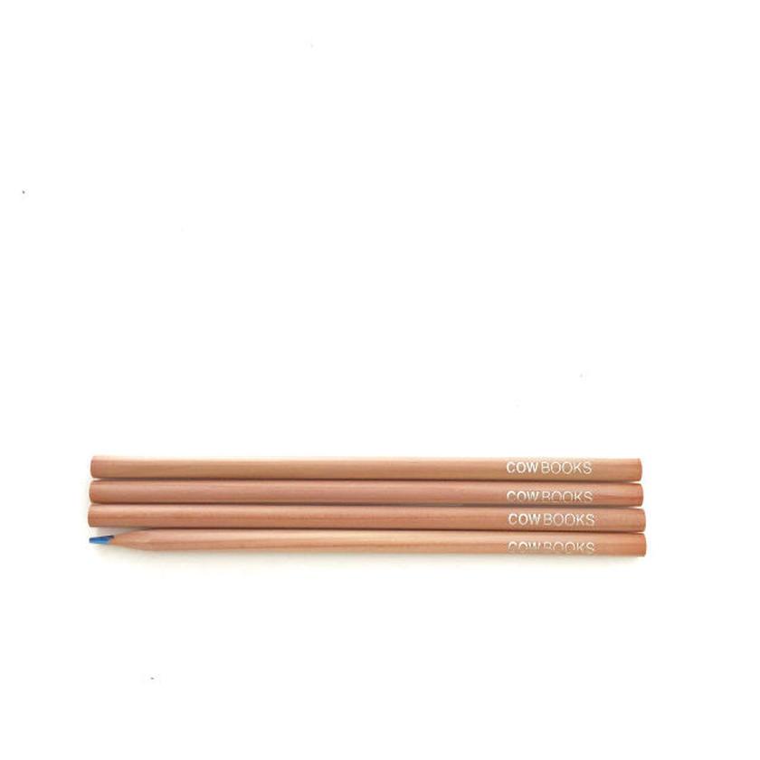 Rainbow Pencil 4本セット 牛のおまけ付き