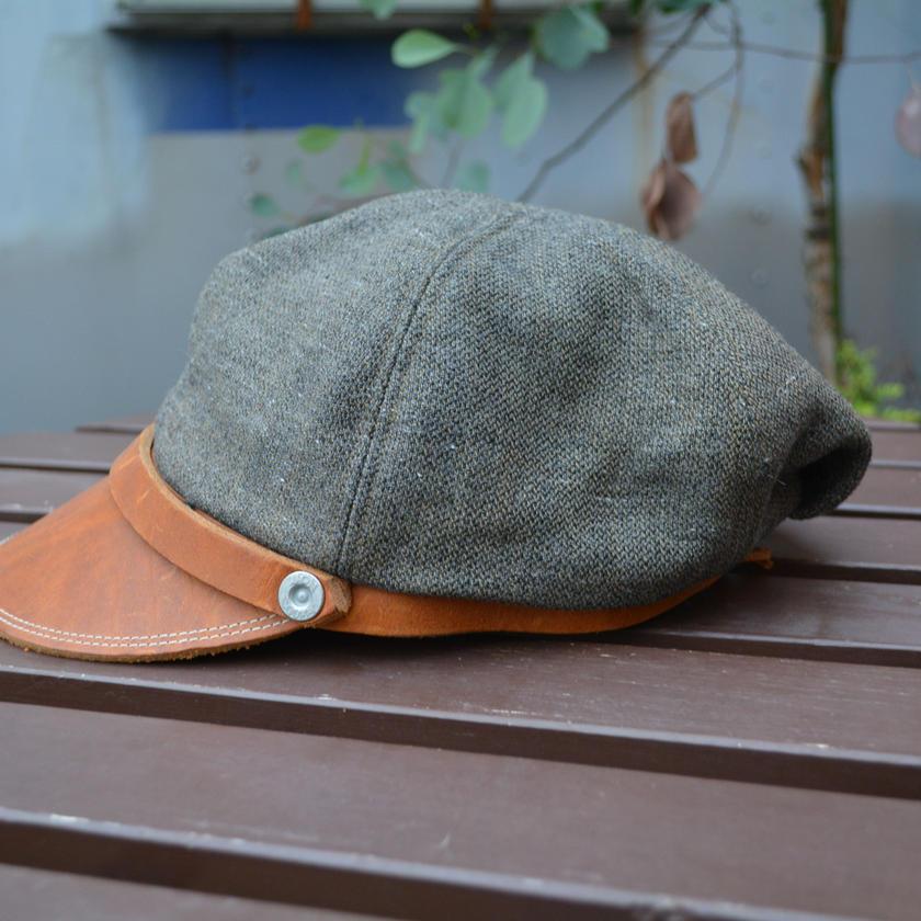 boncoura ボンクラ帽 オリーブウール