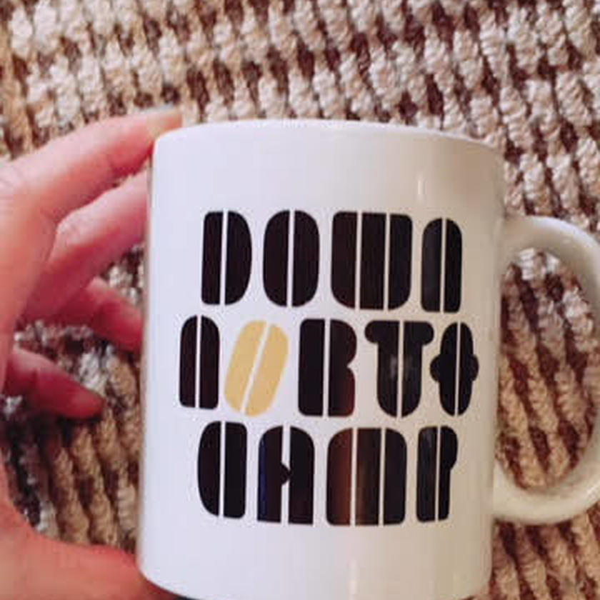 Down NorthCamp / MUG  Designed by SECT