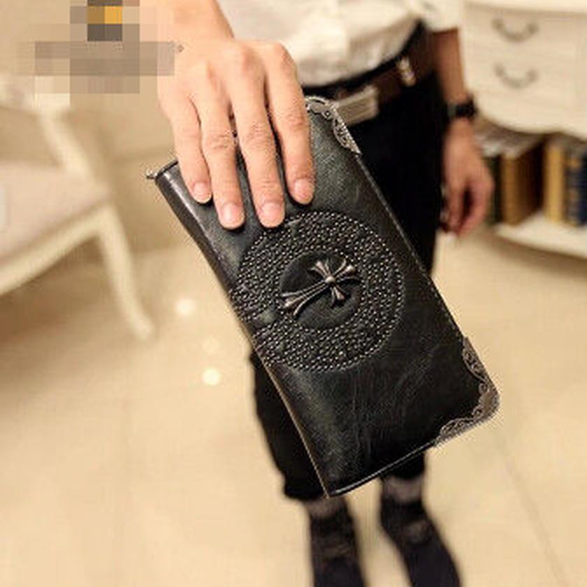 メンズ 人気★2015年新型デザイン財布 ブラック 新品