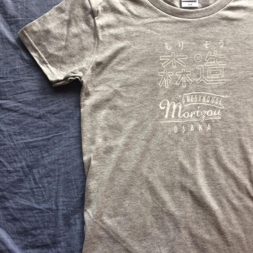 森造オリジナルロゴTシャツ レディース  Lサイズ