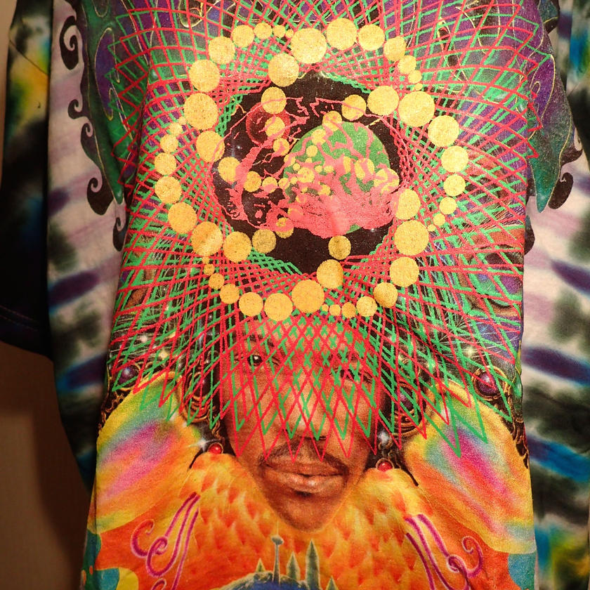 Jimi Hendrix ジミ・ヘンドリックス PRINT  T-SHIRT  HADOU