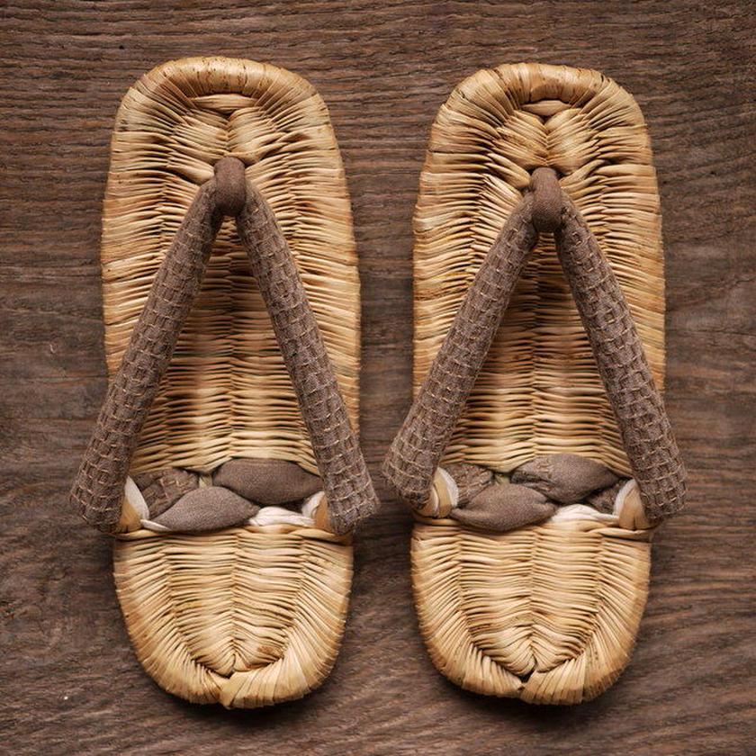 おえ草履(灰) Oe-zori sandals M