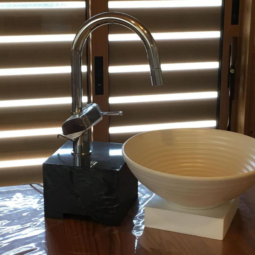信楽焼き 手洗い鉢 S4-L