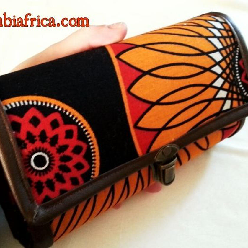 94~アフリカ布長財布~