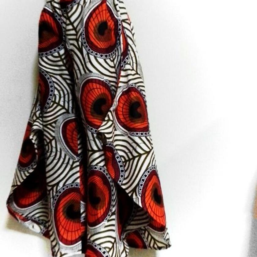 47   アフリカ布バタフライパンツ