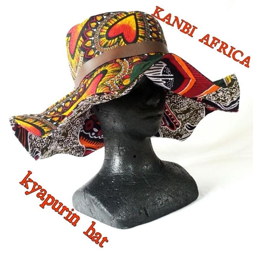 african cloth kyapurin hat