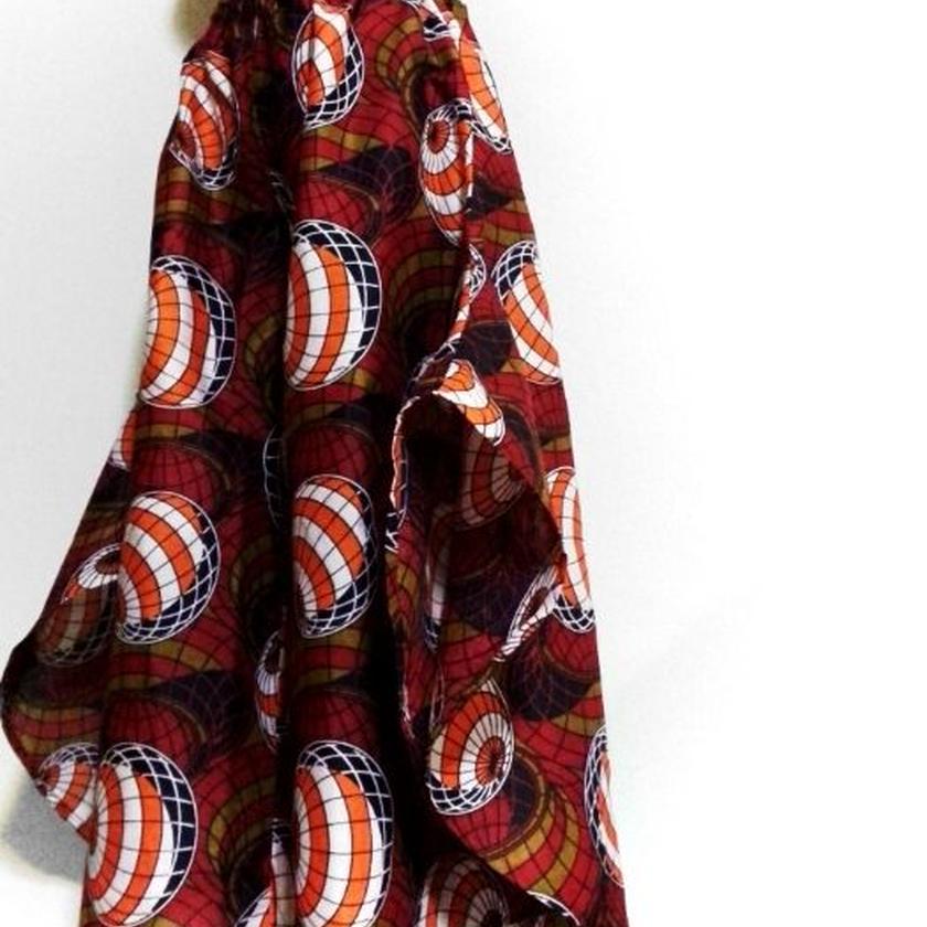 46   アフリカ布バタフライパンツ