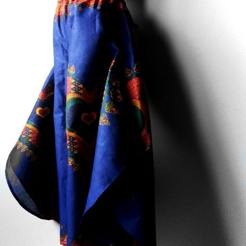 49   アフリカ布バタフライパンツ