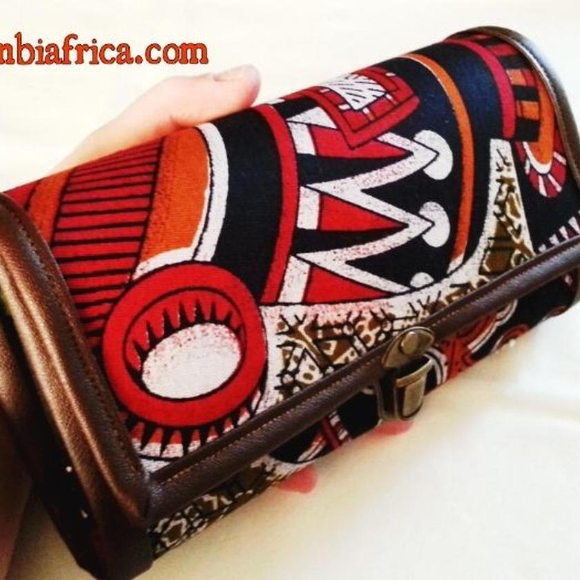 90~アフリカ布長財布~