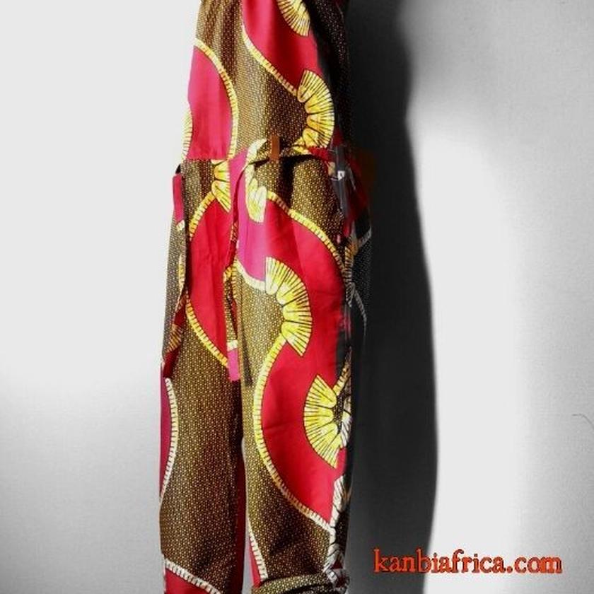 30    アフリカ布オールインワン