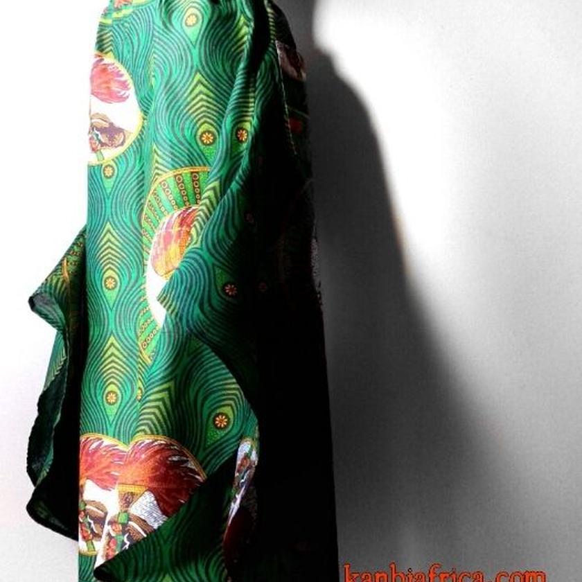 42   アフリカ布 バタフライパンツ