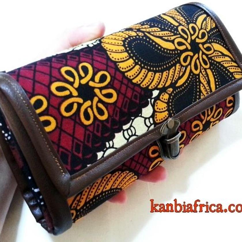 86~アフリカ布長財布~