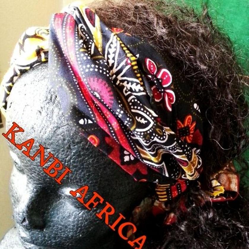 アフリカ布クロスカチューム♪